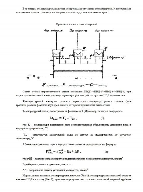 промывка ПВД (подогревателей высокого давления)